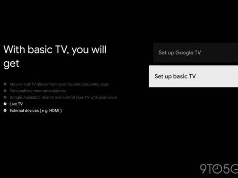 Google TV tem modo básico para quem não quer smart TV
